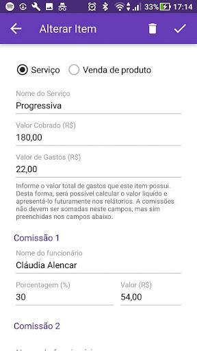 Salão99 - Gerenciamento de Salão de Beleza screenshot 8