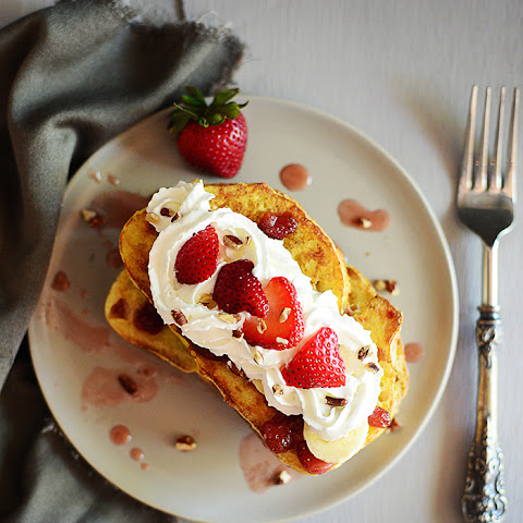 Banana Split French Toast