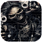 Free Skull Gun Anger Theme APK for Windows 8
