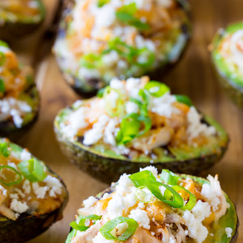 Grilled Tex Mex Stuffed Avocado
