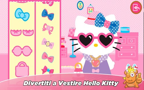 Hello Kitty gioco educativo Screenshot