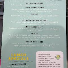 gluten free menu page 2