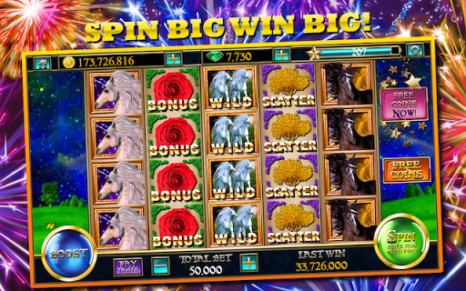 Slots Unicorn 7 Slot Machines - screenshot