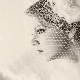 Ivana by Snjezana Pongrac - Wedding Bride ( white flower, wedding photography, wedding, white, bride, women )