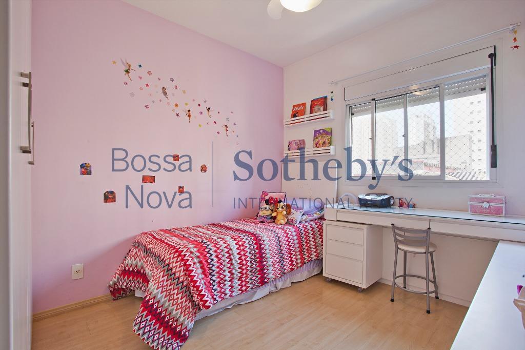 Apartamento em edifício cobiçado em Moema.