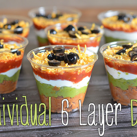 Individual 6 Layer Dips