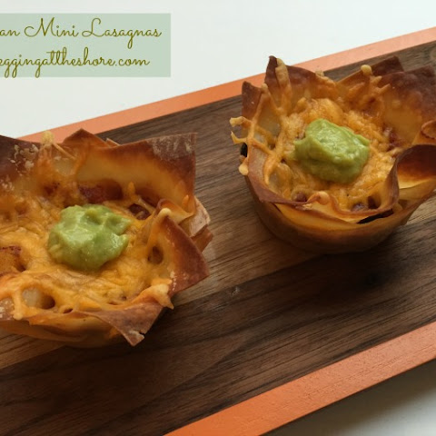 Mexican Mini Lasagnas