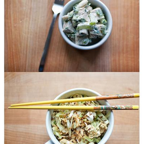 Cabbage Salad With Ramen Noodles