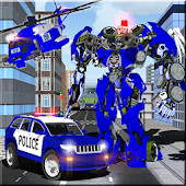 APK Game Police Robots Transform Force for iOS