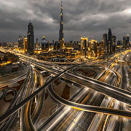 the maze of dubai by Abbas Mohammed - Buildings & Architecture Office Buildings & Hotels ( new, awesome, dubai, uae, maze )