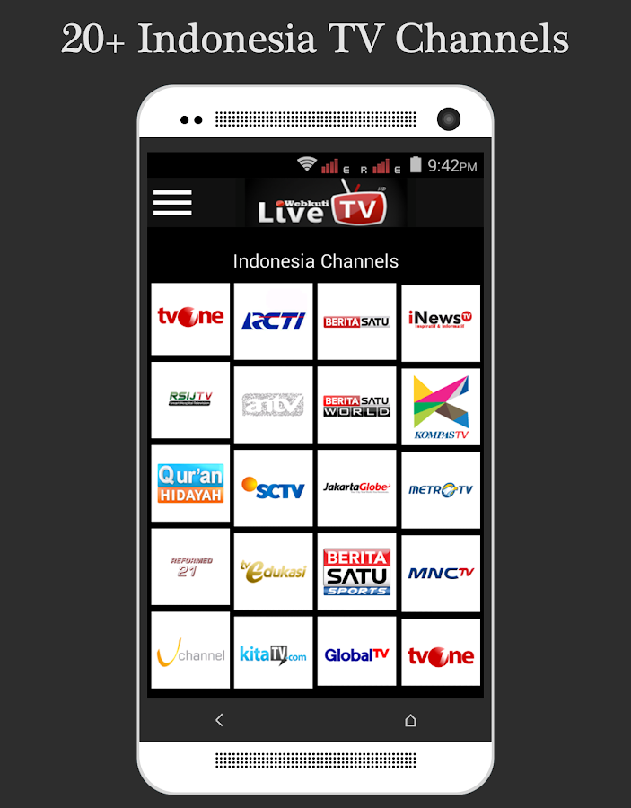 Live TV: Mobile TV, Movie & TV Screenshot 5