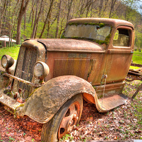 Abandoned by Ron Plasencia - Transportation Automobiles ( great smoky mountains national park )