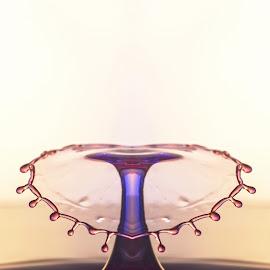 Heart by Jainik Ranpara - Abstract Water Drops & Splashes ( #liquid #jewel #waterdrop #heart #beauty )