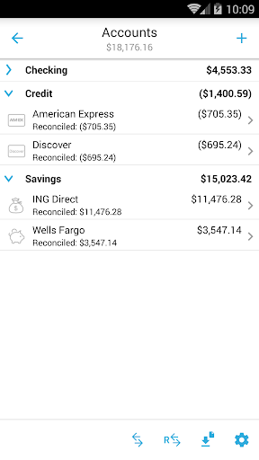 Home Budget with Sync - screenshot