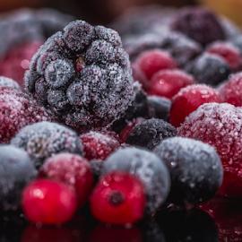 Frozen berries by Marius Radu - Food & Drink Fruits & Vegetables ( fruits, frozen, berries, colors, summer, food )