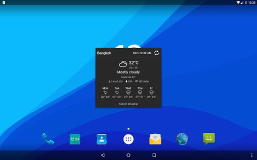 Digital Clock Widget Xperia - screenshot