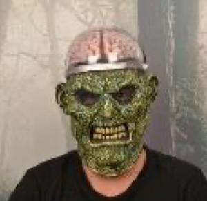 """Маска карнавальня Мозг, серия """"Хеллоуин"""""""
