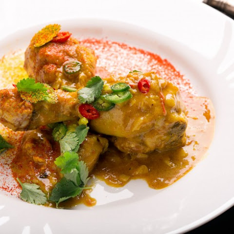 Delicious Saffron Curry Chicken