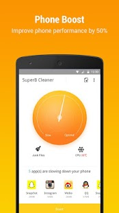 App SuperB Cleaner - Boost, Clean & APP LOCK APK for Windows Phone