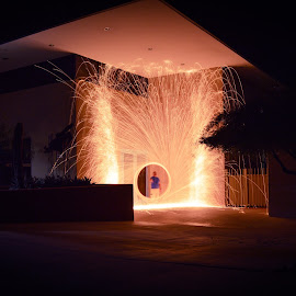 by Annie Christodoulou - Abstract Light Painting