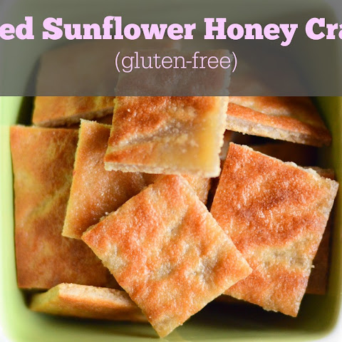 Toasted Sunflower Honey Crackers