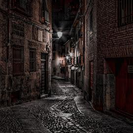 by Stephen  Barker - City,  Street & Park  Street Scenes