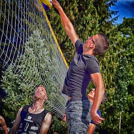 Winning Touch ! by Marco Bertamé - Sports & Fitness Other Sports ( beach volley, summer, net )