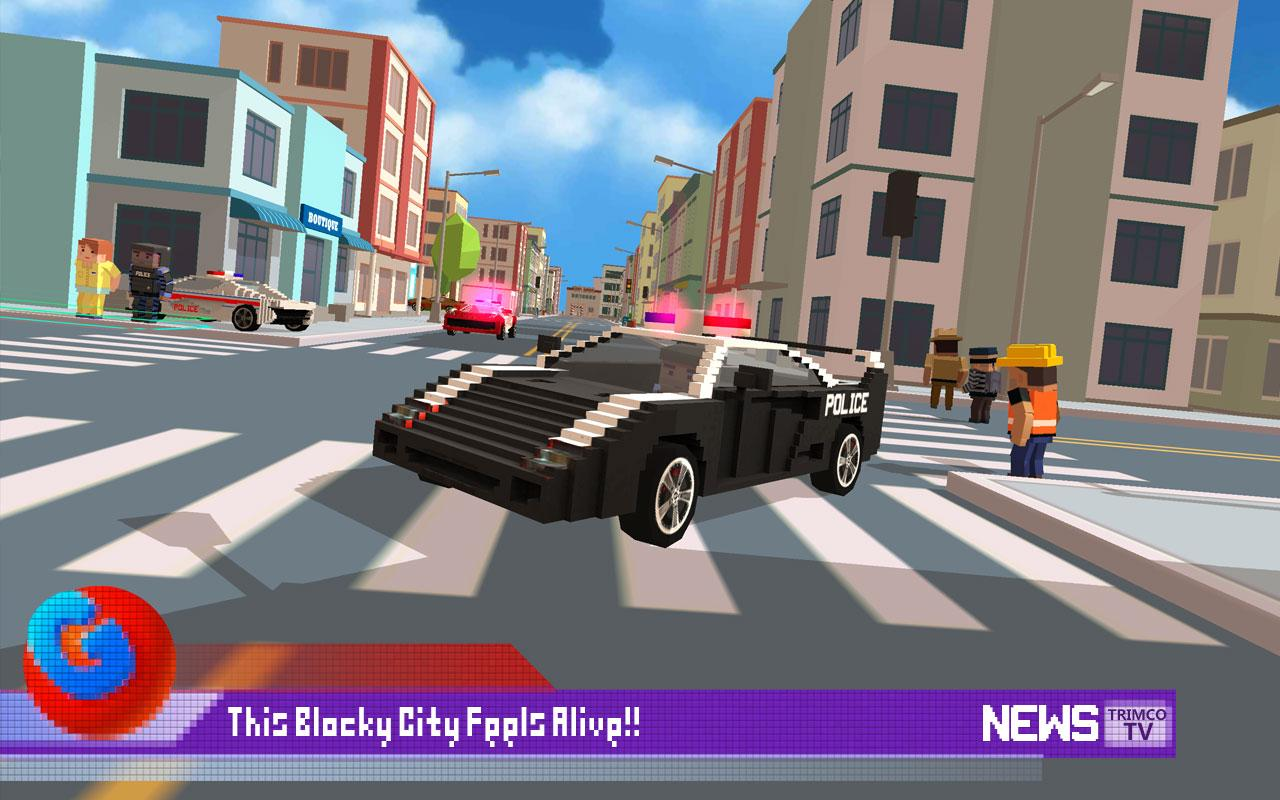Blocky City: Ultimate Police 2 Screenshot 3