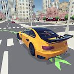 Driving School 3D Icon