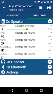App Volume Control Screenshot