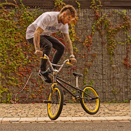 Tricks on bike by Michaela Firešová - Sports & Fitness Other Sports ( bicycle, trick, jump )