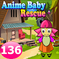 Anime Baby Rescue Game 136
