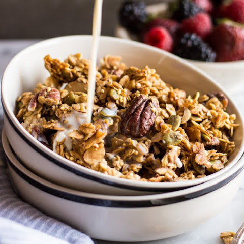 Easy Ginger Spiced Granola with Ancient Grains
