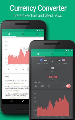 CurrenC: Exchange Rates - screenshot