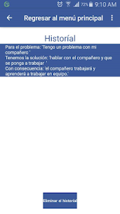 Resolución de Conflictos - screenshot