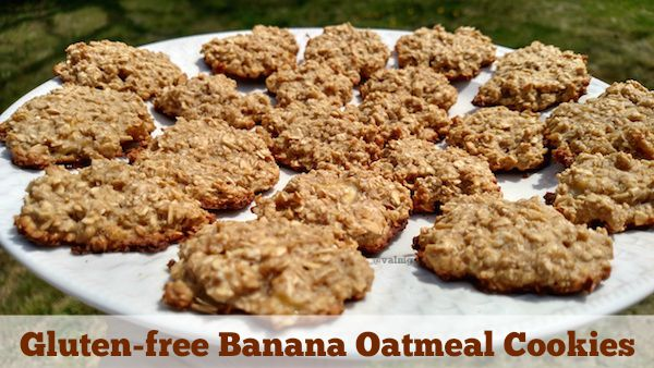 GLUTEN-FREE BANANA OATMEAL COOKIES Recipe | Yummly