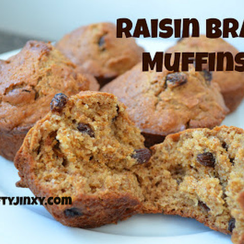 Raisin Bran Muffins Recipe – Great for Breakfast on the GO!