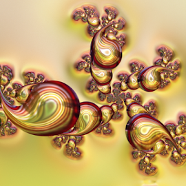 Drops by Cassy 67 - Illustration Abstract & Patterns ( love, fractal art, digital art, drops, fractal, light, digital, fractals )