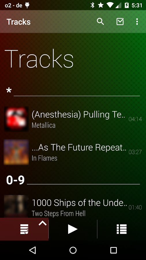Lithium Music Player Screenshot 4