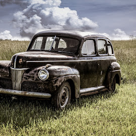 by Dougetta Nuneviller - Transportation Automobiles ( old, vintage, abandoned )