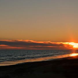 Sunset on Crystal by Rhonda Kay - Landscapes Sunsets & Sunrises