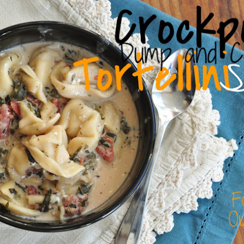 Crockpot {dump and cook} Tortellini Soup