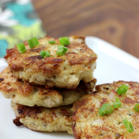 Mashed Potato & Stuffing Patties | Thanksgiving Leftovers
