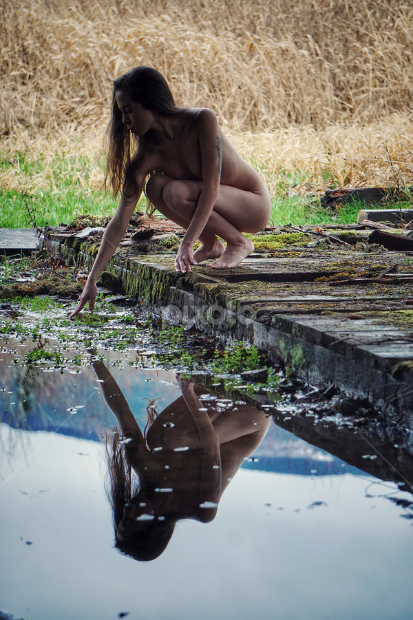 Reflecting  by Todd Reynolds - Nudes & Boudoir Artistic Nude