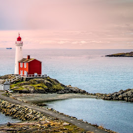 Lighthouse of Victoria by Mike Despot - Buildings & Architecture Public & Historical ( lighthouse, ocean, canada, www.despotphoto.com, scenic,  )