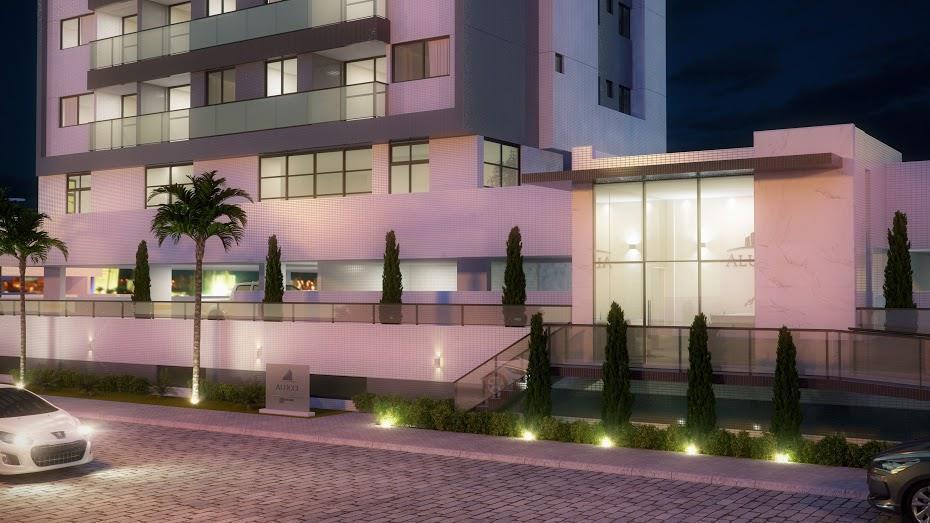 Apartamento com 3 dormitórios à venda, 80 m² por R$ 400.000 - Bessa - João Pessoa/PB