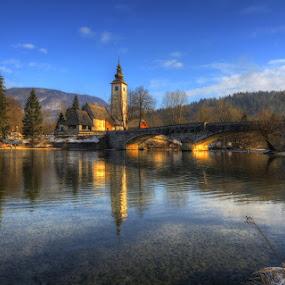 Bohinj by Boštjan Peterka - City,  Street & Park  Vistas ( slovenia, lake, bohinj )