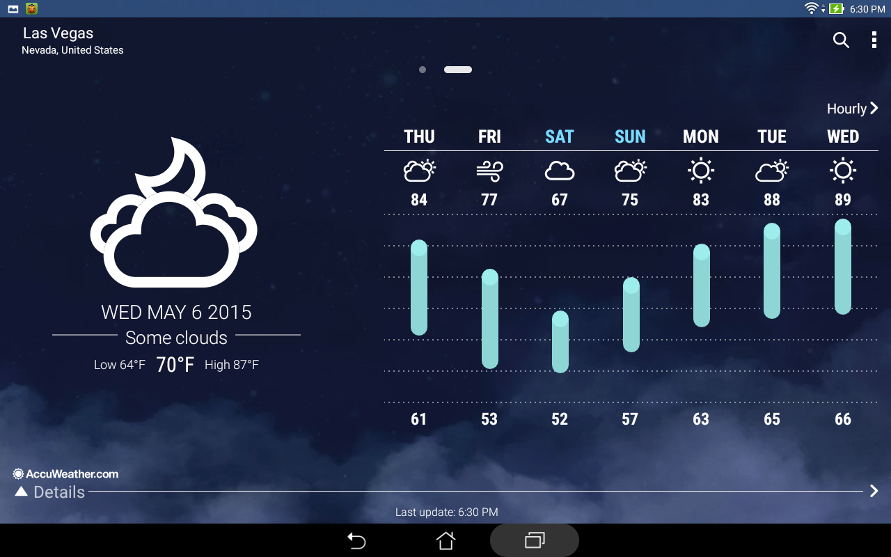 ASUS Weather Screenshot 8