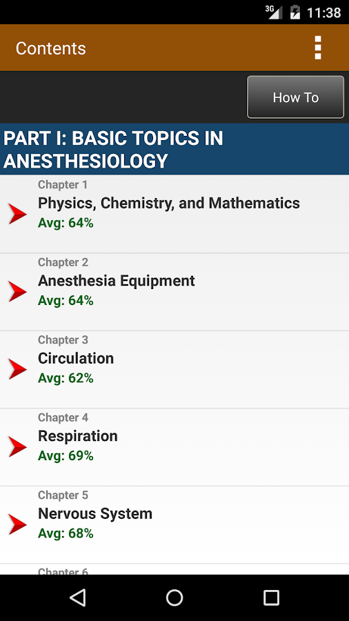 Anesthesiology Board Review Screenshot 1