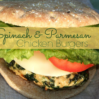 Chicken Spinach Burgers Recipes